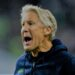 Oct 3, 2019; Seattle, WA, USA; Seattle Seahawks head coach Pete Carroll reacts to a call in favor of the Los Angeles Rams during the second quarter at CenturyLink Field. Mandatory Credit: Joe Nicholson-USA TODAY Sports